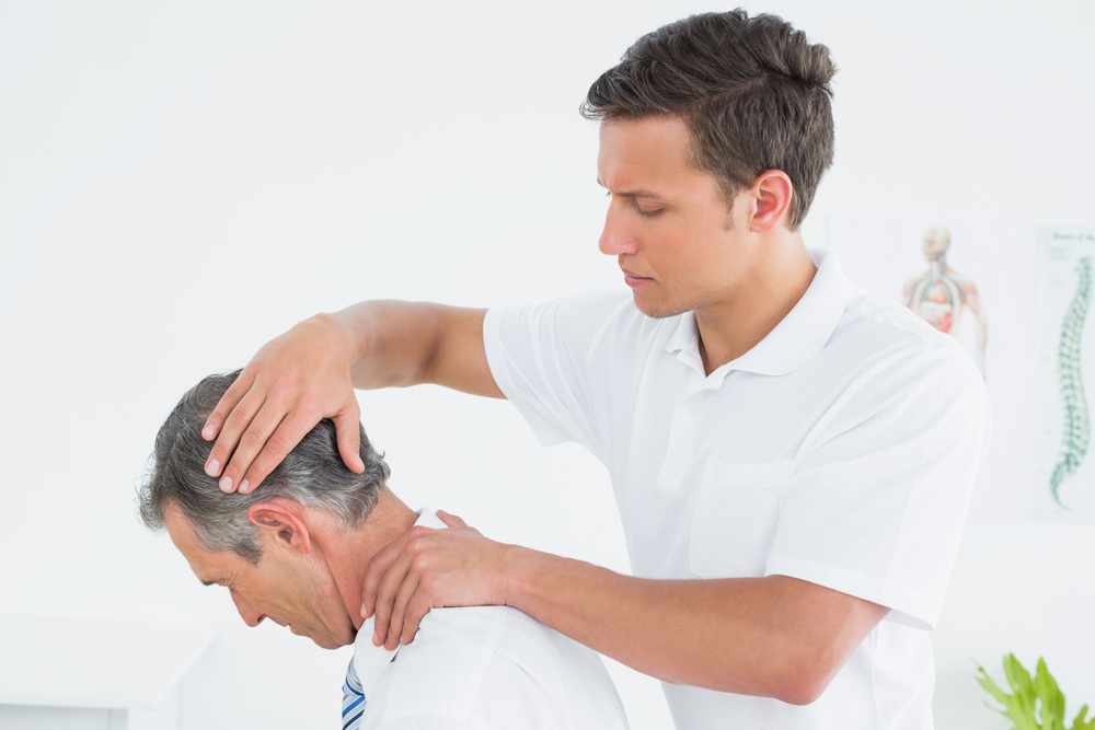 neck treatment by a chiropractor